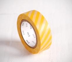 washi-tape-con-strisce-gialle